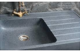 evier de cuisine en granite évier en pour cuisine granit véritable 90x60