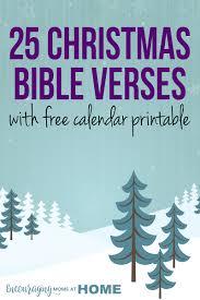 25 days of christmas bible verses