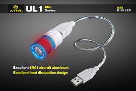 usb powered led light xtar ul1 180 lumen usb powered led light liteshop com au