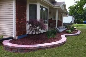large red rock landscaping small red rock landscaping and garden