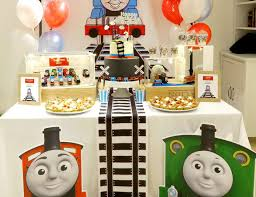 thomas the train party ideas for a boy birthday catch my party