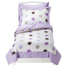 Purple Toddler Bedding Set Princess Crown Purple 4piece Toddler Bedding Set Purple