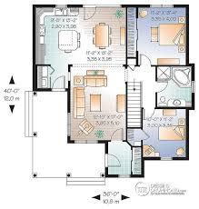 w3108 maison champêtre abordable avec 2 chambres et balcon