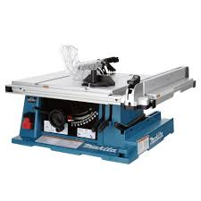 makita portable table saw makita 15 amp 10 in corded contractor table saw with 25 in rip