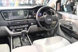 mitsubishi adventure 2017 interior kia grand carnival yp 2017 interior image 36695 in malaysia