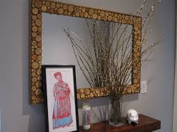 Bathroom Mirror Decorating Ideas Diy Bathroom Mirror Frame Ideas Images