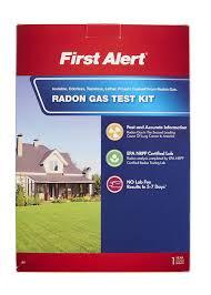 first alert rd1 radon gas test kit amazon com