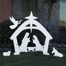 Lighted Outdoor Christmas Nativity Scene by Looking For The Best Christmas Large Outdoor Nativity Sets For