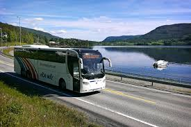 travel and transport images How to get in there by bus jotunheimen jpg