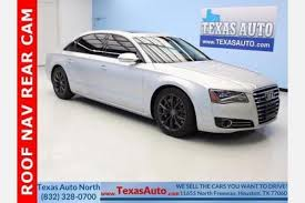 audi for sale houston used audi a8 for sale in houston tx edmunds