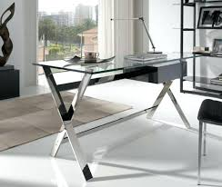Glass Desk Office Glass Office Desk Modern Glass Top Office Table Design With Wooden
