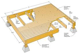 the best free outdoor deck plans and designs deck plans plan