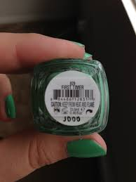 buzzed about beauty nail of the day essie u0027s first timer