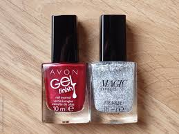 review avon gel finish nail polishes creme brulee dazzle pink