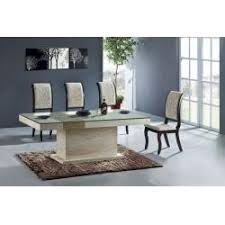 iran natural travertine stone dining table high end handcraft