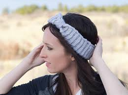 knit headbands loom knit headband free loom knit pattern darice