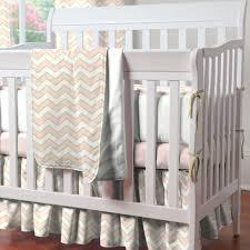 Davinci Emily Mini Crib Bedding Pale Pink And Gold Chevron Mini Crib Bedding Mini Crib Mini