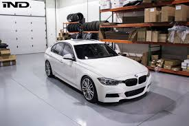 super lowered cars f30 335i m sport alpine white lowered h u0026r sport