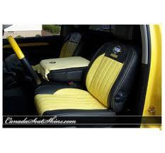 Dodge Ram Seat Upholstery 2004 2005 Dodge Ram Rumble Bee Leather Upholstery