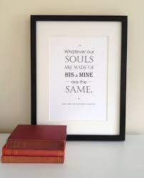 wedding quotes etsy wedding quotes wuthering heights quote print by literaryemporium