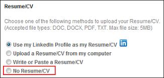 resume uploader upload attachments upload page