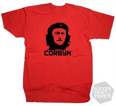 che guevara t shirt corbyn che guevara labour t shirt