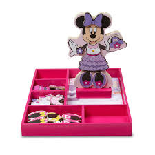 Mickey Mouse Table And Chairs by Mickey Mouse U0026 Friends Minnie Mouse Wooden Magnetic Dress Up Doll