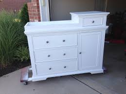 Used Changing Tables White Changing Table Diy Projects