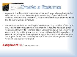 gather all necessary information fill out job applications create