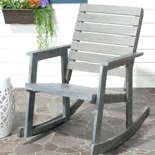 wooden porch rocking chairs ash gray wood outdoor rocking chair
