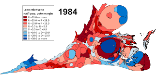 2004 Presidential Election Map by Larry J Sabato U0027s Crystal Ball The New Dominion Virginia U0027s Ever