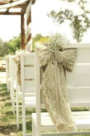 wedding chair bows burlap chair sashes diy our rustic burlap chair sash is