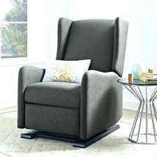 Ottoman For Baby Room Baby Relax Glider Rocker And Ottoman Espresso Gray Glider Recliner