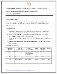 resume format for engineering freshers docusign membership b tech fresher resume sle download 1 career pinterest