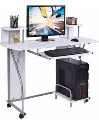Computer Desk Workstation Incredible Deal On New Mtn G Rolling Computer Desk Pc Laptop Desk