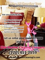pink panther cleaning company cleaning denver phone