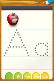 abc letter tracing u2013 free writing practice for preschool on the