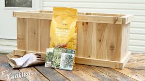 How To Make Planter Boxes by How To Build A Cedar Planter Box Diy U2014 Crafted Workshop