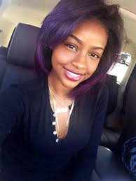 black layered crown hair styles purple hairstyle for black teens with short hair cyniece s pins