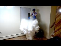 what happens when you drop dry ice into liquid nitrogen youtube