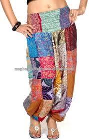 hippie jumpsuit wholesale vintage patch work harem sarouel ethnique femme