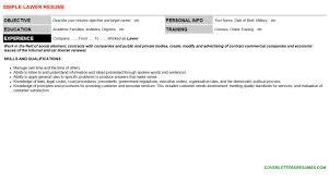 lawer cover letter u0026 resume