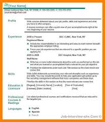 What Should Be The Title Of Resume 5 Example Of Resume Title Emt Resume