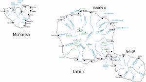 Tahiti Map World by Large Tahiti Island Maps For Free Download And Print High