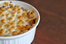 yams thanksgiving marshmallows sweet potato casserole with marshmallows recipe