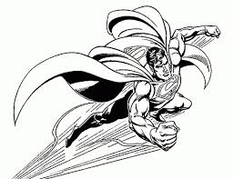 awesome superman coloring pages superman coloring pages image 7
