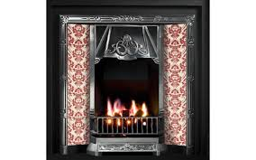 toulouse tiled insert fireplace