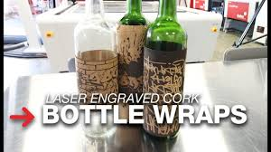 wine bottle wraps cork bottle wraps wine bottle lables laser engraved cork