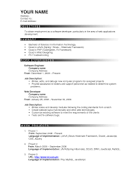 Best Resume Format Experienced Software Engineers by Best Resume Format Experienced Software Engineers Create