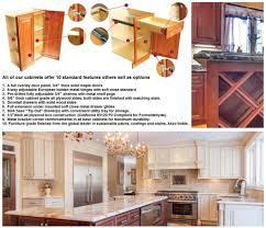 j u0026k wholesale cabinets have 10 standard features others sell as